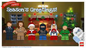 holiday fun create a lego minifigure christmas card a mom u0027s take