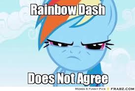 Mlp Meme Generator - rainbow dash meme rainbow dash meme generator captionator