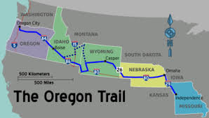 map of oregon freeways oregon trail travel guide at wikivoyage