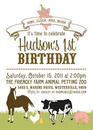 farm birthday party invitations oxsvitation com