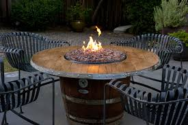 introducing firepit tables a fiery wonderful patio dining table with pit california patio