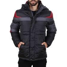 venidise winter jacket black at hoodboyz