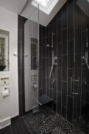 bathroom awesome small bathroom design with black floral tile