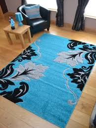 Black Area Rugs 45 Best Contemporary Area Rugs Images On Pinterest Within Teal And