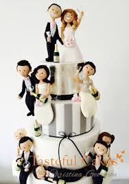 tasteful cakes by christina georgiou funny drunk themed wedding