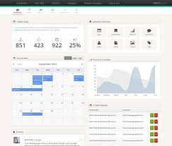 35 free bootstrap admin templates templatemag