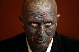 vladimir franz heavily tattooed drama professor wants to be next