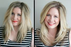clairol shimmer lights before and after how to fake a blow out the small things blog
