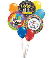 the hill balloon oh no the hill balloon bouquet comes with 3 mylar and 6 late