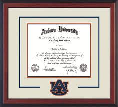 auburn diploma frame auburn univ diploma frame c rever logo cutout navy