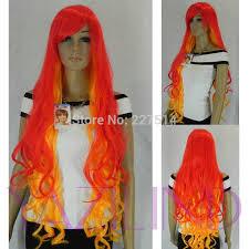 co mxj01426w u003enew fancy dress fire orange long curly wavy fringe