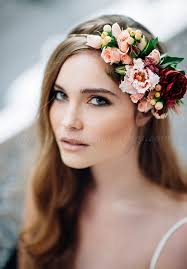 floral hair accessories floral hair pieces for brides bridal hairstyle with floral