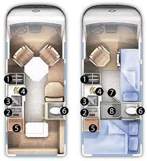 Motorhome Floor Plans Roadtrek 170 Popular Class B Motorhome Floorplans Other Rvs