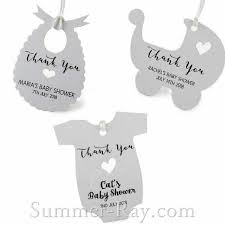 favor favor baby personalized white baby shower favor tags gift tags summer