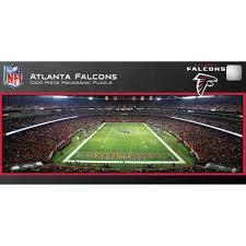 Atlanta Falcons Home Decor by Master Pieces Atlanta Falcons Panoramic Stadium Puzzle 1 000