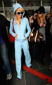 paris hilton wears juicy couture at nyfw instyle com