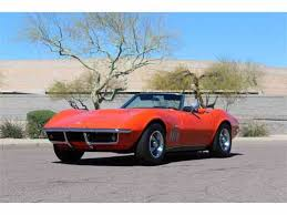 1969 corvette for sale 1969 chevrolet corvette for sale on classiccars com 92 available