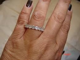 eternity ring finger asha eternity band let s talk jewelry