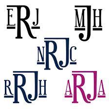 Letter Monogram 196 Best Monogram Magic Images On Pinterest Monograms Letter