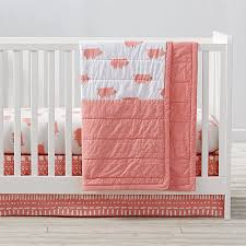 wild excursion pig crib bedding 3 piece set the land of nod