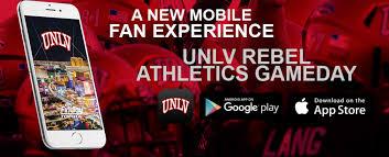 unlvrebels com unlv athletics announces new gameday app