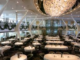 explore celebrity cruises main dining options including dining