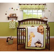 Crib Bedding Jungle Bedding By Nojo Jungle Pals 3pc Crib Bedding Set Walmart
