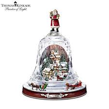 officially licensed kinakde musical bell ornament with