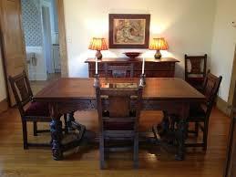 1930 Dining Table Dining Room Amusing Oak Dining Room Sets Solid Oak Dining Table