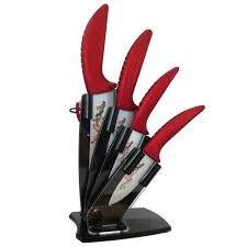aroccom 5 piece ceramic knife set with knife holder 3 aroccom 5 piece ceramic knife set with knife holder 3
