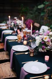 table decoration ideas for dinner party christmas party table
