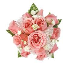 pink corsage pink corsage pink wrist corsage