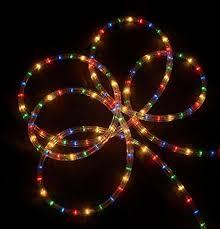 18 multi color indoor outdoor rope lights