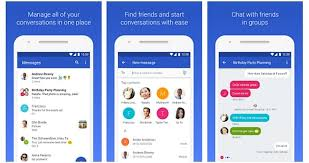 messenger apps for android messenger is now android messages 2017 messenger