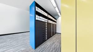 Storage Bookshelves by Hybria 4 Post Library Shelving