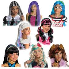 Frankenstein Monster High Halloween Costumes by Monster High Costume Wig Ebay