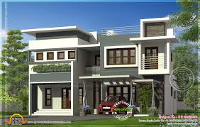 modern contemporary residence design kerala home design and