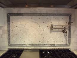 White Backsplash Kitchen by Kitchen Backsplash Tile For Kitchens Tumbled Marble Kitchen