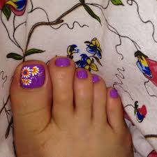 orange toenail designs bing images toe nails pinterest