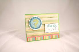 baby shower cards from handmade by melody