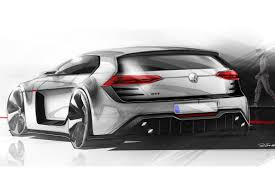 volkswagen concept 2017 vw golf design vision gti concept at worthersee evo