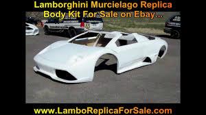 lamborghini replica kit lamborghini murcielago lp640 fiberglass body kit for sale www