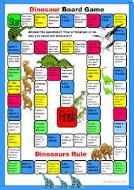 18 free esl dinosaurs worksheets