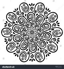 mandala background art tribal medallion vector stock vector