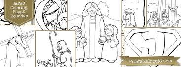 20 jesus coloring pages kids u2014 printable treats