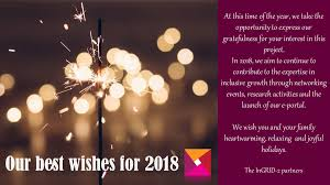 our best wishes for 2018 ingrid