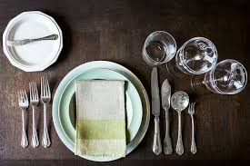 Formal Setting Of A Table How To Set A Table