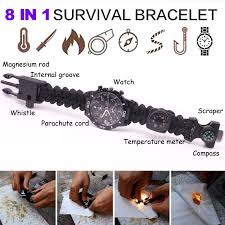 bracelet survival images 8 in 1 multifunction outdoor survival bracelet diamondhoney jpg