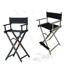 portable makeup chair with side table foldable makeup chair pro makeup artist chair case combo w side