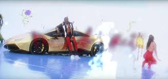 gold lamborghini gold lamborghini huracán travis scott butterfly effect music